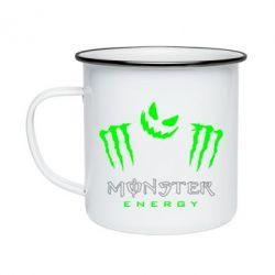 Кружка емальована Monster Energy Halloween