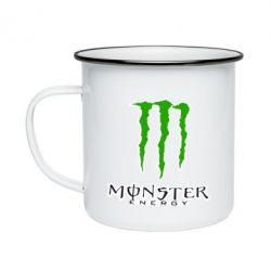 Кружка эмалированная Monster Energy Logo - FatLine