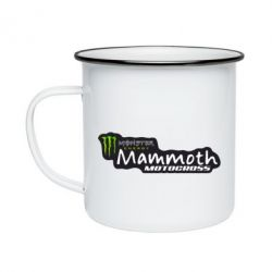 Кружка эмалированная Monster Energy Mammoth Motocross - FatLine