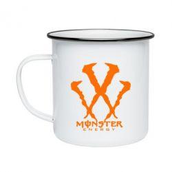 Кружка эмалированная Monster Energy W - FatLine