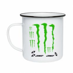 Кружка эмалированная Monster One