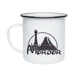 Кружка эмалированная Mordor (Властелин Колец) - FatLine