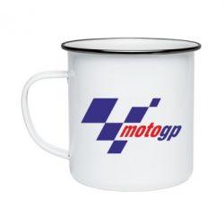 Кружка эмалированная MOTO GP