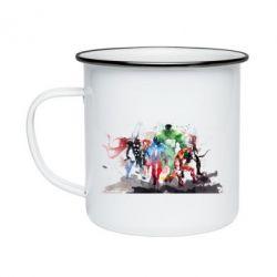 Кружка эмалированная Мстители Арт