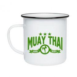 Кружка эмалированная Muay Thai Hard Body - FatLine