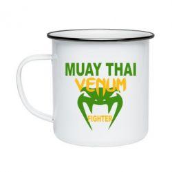 Кружка эмалированная Muay Thai Venum Fighter