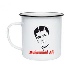 Кружка эмалированная Muhammad Ali