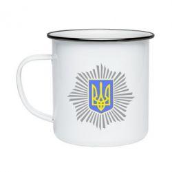 Кружка емальована МВС України