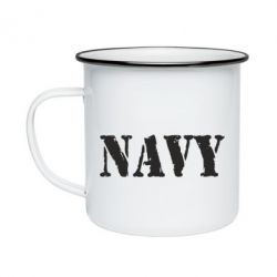 Кружка емальована NAVY