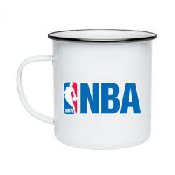 Кружка эмалированная NBA Logo