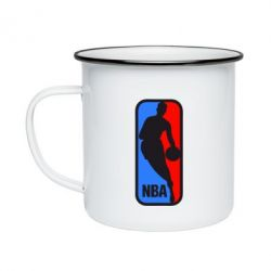 Кружка эмалированная NBA - FatLine
