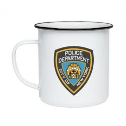 Кружка емальована New York Police Department