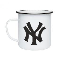 Кружка емальована New York yankees