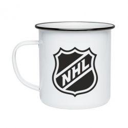Кружка эмалированная NHL - FatLine