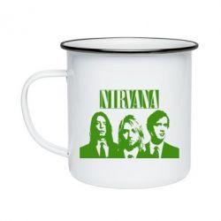 Кружка эмалированная Nirvana (Нирвана)