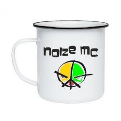 Кружка емальована Noize MC Logo