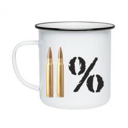 Кружка емальована Одинадцять відсотків