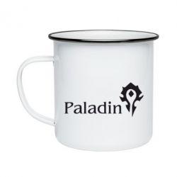 Кружка емальована Paladin