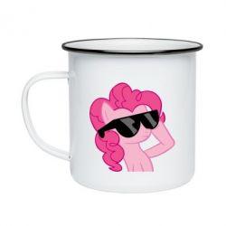 Кружка эмалированная Pinkie Pie Cool