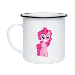 Кружка емальована Pinkie Pie smile - FatLine