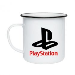 Кружка емальована PlayStation - FatLine