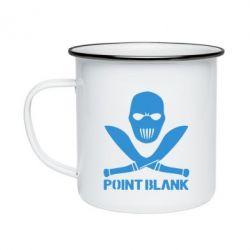 Кружка эмалированная Point Blank - FatLine