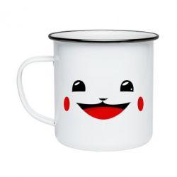Кружка емальована Pokemon Smile