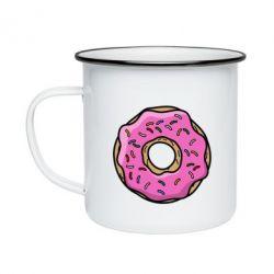 Кружка эмалированная Пончик Гомера