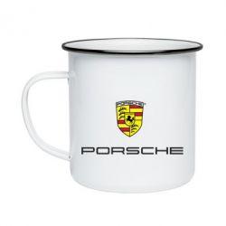 Кружка эмалированная Porsche - FatLine