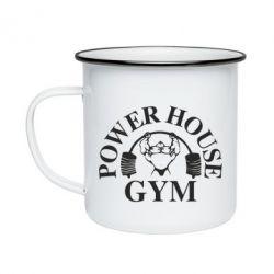 Кружка эмалированная Power House Gym