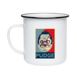 Кружка эмалированная Pudge aka Obey