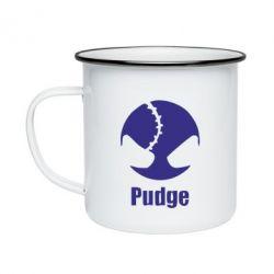 Кружка эмалированная Pudge - FatLine