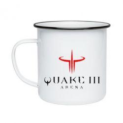 Кружка эмалированная Quake 3 Arena