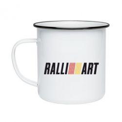 Кружка емальована Ralli Art