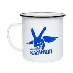 Кружка эмалированная Республика Казантип