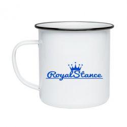 Кружка емальована Royal Stance