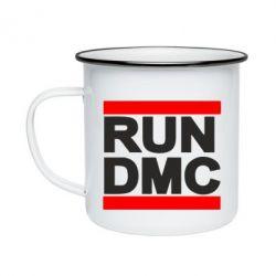 Кружка эмалированная RUN DMC - FatLine