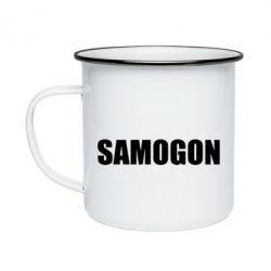 Кружка эмалированная Samogon 1