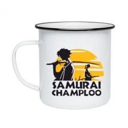 Кружка емальована Samurai Champloo