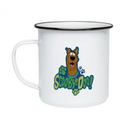 Кружка эмалированная Scooby Doo!
