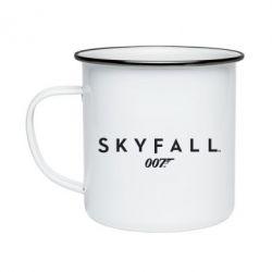 Кружка эмалированная Skyfall 007 - FatLine