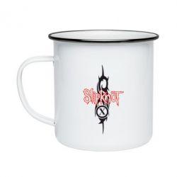 Кружка емальована Slipknot Music
