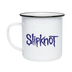 Кружка эмалированная Slipknot - FatLine