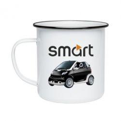 Кружка эмалированная Smart 450 - FatLine