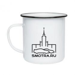 Кружка емальована Smotra ru