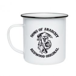 Кружка емальована Sons of Anarchy