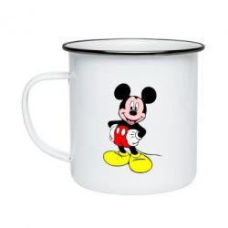 Кружка емальована Сool Mickey Mouse