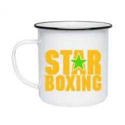 Кружка эмалированная Star Boxing