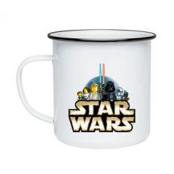 Кружка емальована Star Wars Lego