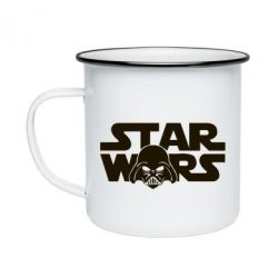 Кружка емальована StarWars Logo